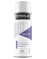Peinture aérosol Spéciale radiateur BLANC BRILLANT 400ml