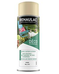 Peinture aérosol Déco Multi-supports extérieur IVOIRE SATIN 400ml