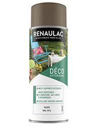 Peinture aérosol Déco Multi-supports extérieur TAUPE SATIN 400ml