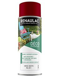Peinture aérosol Déco Multi-supports extérieur CERISE GRIOTTE SATIN 400ml