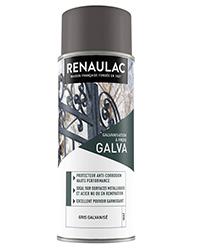 Peinture aérosol Spéciale Galvanisation à froid extérieur GRIS MAT 400ml