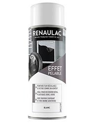 Peinture aérosol film Décollable BLANC BRILLANT 400ml