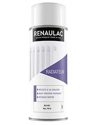 Peinture aérosol Spéciale radiateur BLANC MAT 400ml