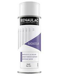 Peinture aérosol Spéciale radiateur BLANC SATIN 400ml
