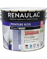 Peinture bois PROTECT' RÉSIST BLANC SATIN 10 L