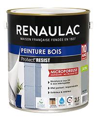 Peinture bois PROTECT' RÉSIST GRIS SILEX SATIN 2,5 L