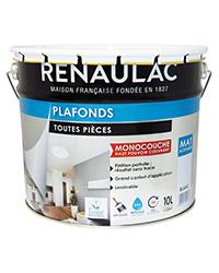 Peinture Plafonds Toutes Pièces BLANC MAT 10 L