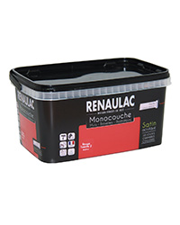 Peinture Ultra-couvrante Multisupports ROUGE TOMATE 2 SATIN 2,5 L