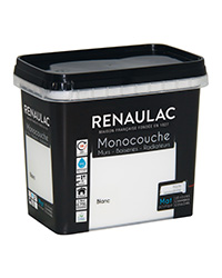 Peinture Ultra-couvrante Multisupports BLANC MAT 0,75 L