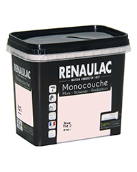 Peinture Ultra-couvrante Multisupports ROSE THÉ 2 SATIN 0,75 L