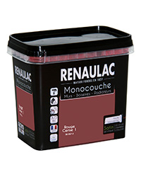 Peinture Ultra-couvrante Multisupports ROUGE CERISE 1 SATIN 0,75 L