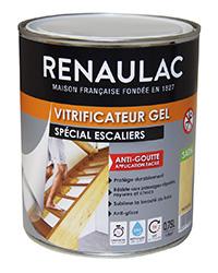 Vitrificateur gel spécial escaliers INCOLORE SATIN 0,75 L